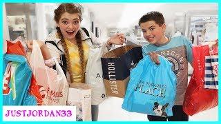 Teen No Budget Back To School Shopping Challenge / JustJordan33