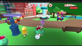 Roblox meepcity-showing how to turn child, teenager and adult!