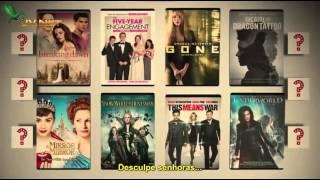 Redbox Movie Awards - TOP 10 Filmes mais alugados 2012