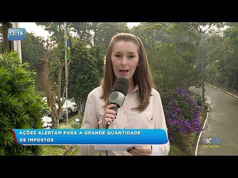 Feira de Itajaí alerta para a grande quantidade de impostos