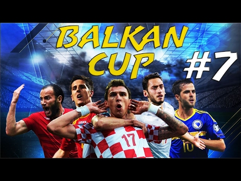 FIFA 17 - BALKAN CUP #7 - Croatia vs Romania, Albania vs Macedonia, & Kosovo vs Serbia - Group A