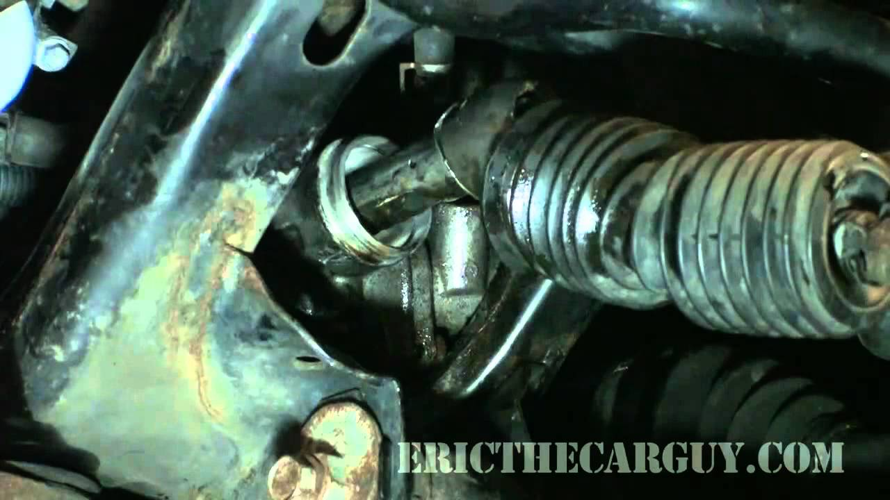 Power steering rack replacement