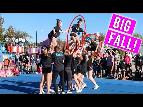 Scariest Cheerleading Moment!