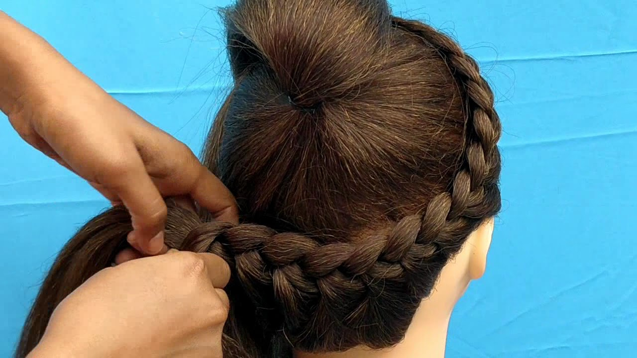Image result for AWESOME HAIRSTYLE FOR GIRL || BEAUTIFUL HAIRSTYLE FOR PARTY AND OUTGOING FOR MEDIUM AND LONG HAIR