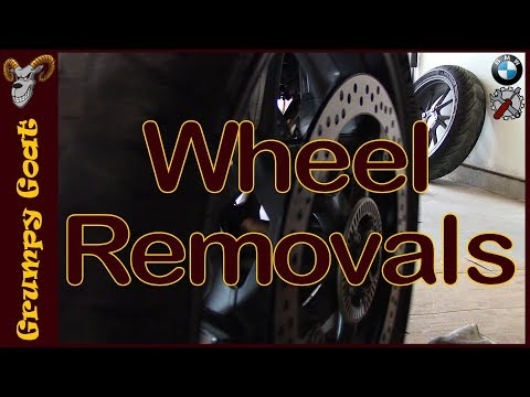 2016 R1200RS Wheel Removals