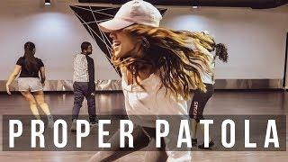 PROPER PATOLA NAMASTE ENGLAND | BADSHAH | DILJIT | AASTHA | Anrene Lynnie Rodrigues Choreography
