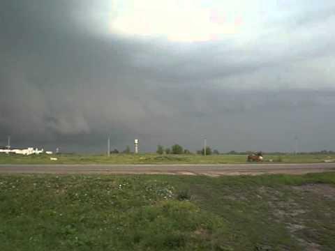 Плохая погода в Аксае.