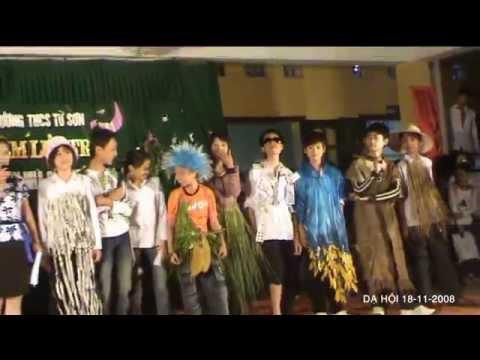 Thời Trang & âm Nhạc (Biểu Diễn: Lớp 8A - THCS Từ Sơn) - Dạ Hội 18-11-2008