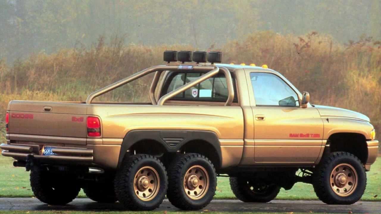Dodge Ram T Rex 1997 Concept Youtube