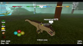 BEING AN IDIOT IN ROBLOX DINO SIM