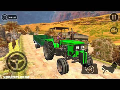 Tractor Cargo Transport Driver Farming Simulator Android GamePlay FHD