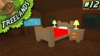 Treelands Ep. 12: Building our Bedroom!   Roblox