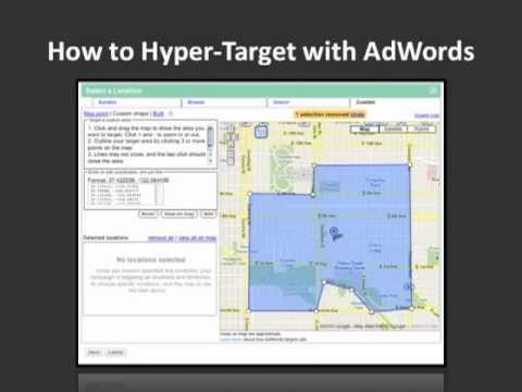 Geotargeting Search Engine PPC: Hypertargeting with AdWords