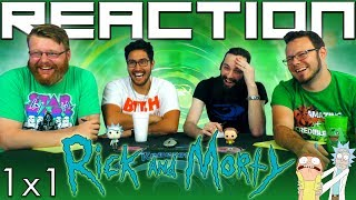 "Rick and Morty 1x1 REACTION!! ""Pilot"""