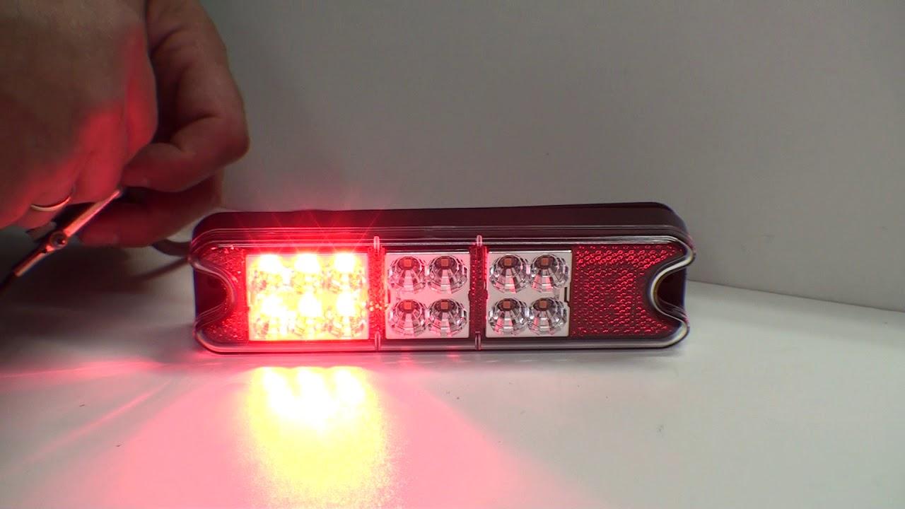 Lampa Tylna Led L1834 Do Przyczepy Lawety Ciągnika