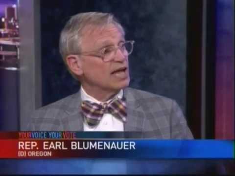 Your Voice, Your Vote: Rep. Earl Blumenauer - It's Time for Common Sense - End Marijuana Prohibition