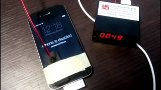 Sblocco password PIN di un iPhone bloccato e disabilitato - Studio DiFoB