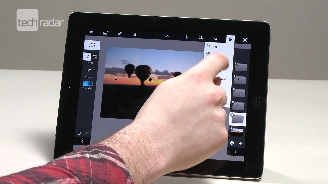 Photoshop Touch app arrives for the iPad | Macworld