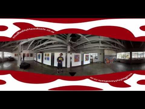 360° Virtual Reality Video - City of Gold Graffiti Festival