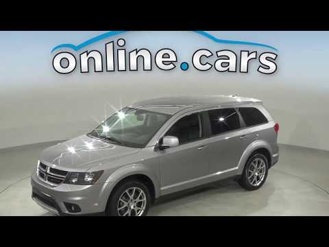 G13801TA Used 2017 Dodge Journey GT AWD Silver SUV Test Drive, Review, For Sale