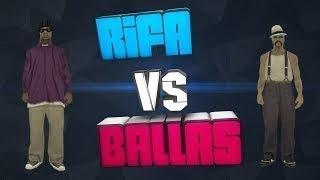 [MTA-RP] - Мясной капт дико Rifa vs Ballas 19.11.2017