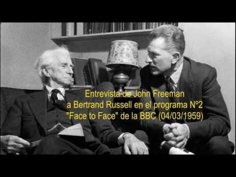 Bertrand Russell Cara a Cara con John Freeman (1959)
