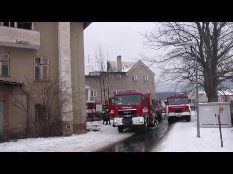Požár bytu ve Šternberku Babická ulice
