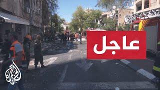 قتيل إسرائيلي جراء القصف الصاروخي على تل أبيب