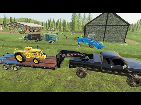 Stealing our horse back and a new tractor for the farm | Back in my day 33 | Farming Simulator 19 |
