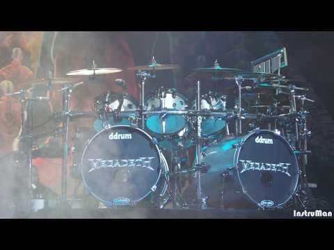Megadeth-Dystopia Instrumental Backing Track (Drums And Bass Only)