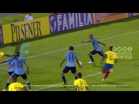 Fecha 11 - Uruguay 2:1 Ecuador