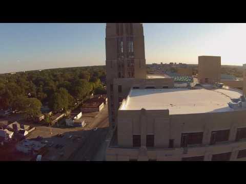 Drone Flight Over Sears Crosstown Center in Memphis,TN