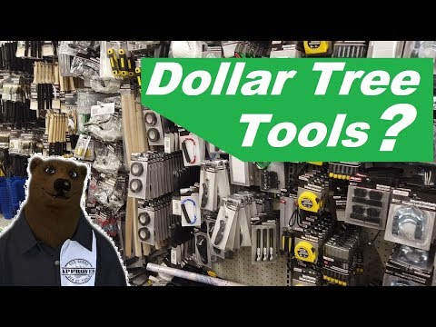 How Bad Are Tools At  Dollar Tree? ($1 Tools)