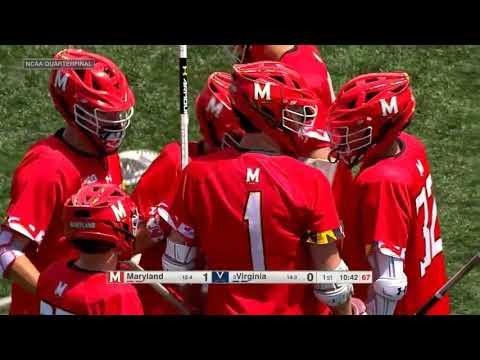 Maryland Vs Virginia Lacrosse 2019 NCAA Lacrosse Championship Quarterfinal