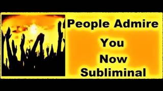 Make PEOPLE Like & ADORE You NOW - Subliminal Rapport Recording thumbnail