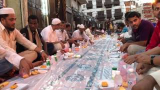iftar Ramadan old Jeddah Saudi Arabia