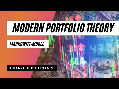 Modern Portfolio Theory - Capital Allocation Line