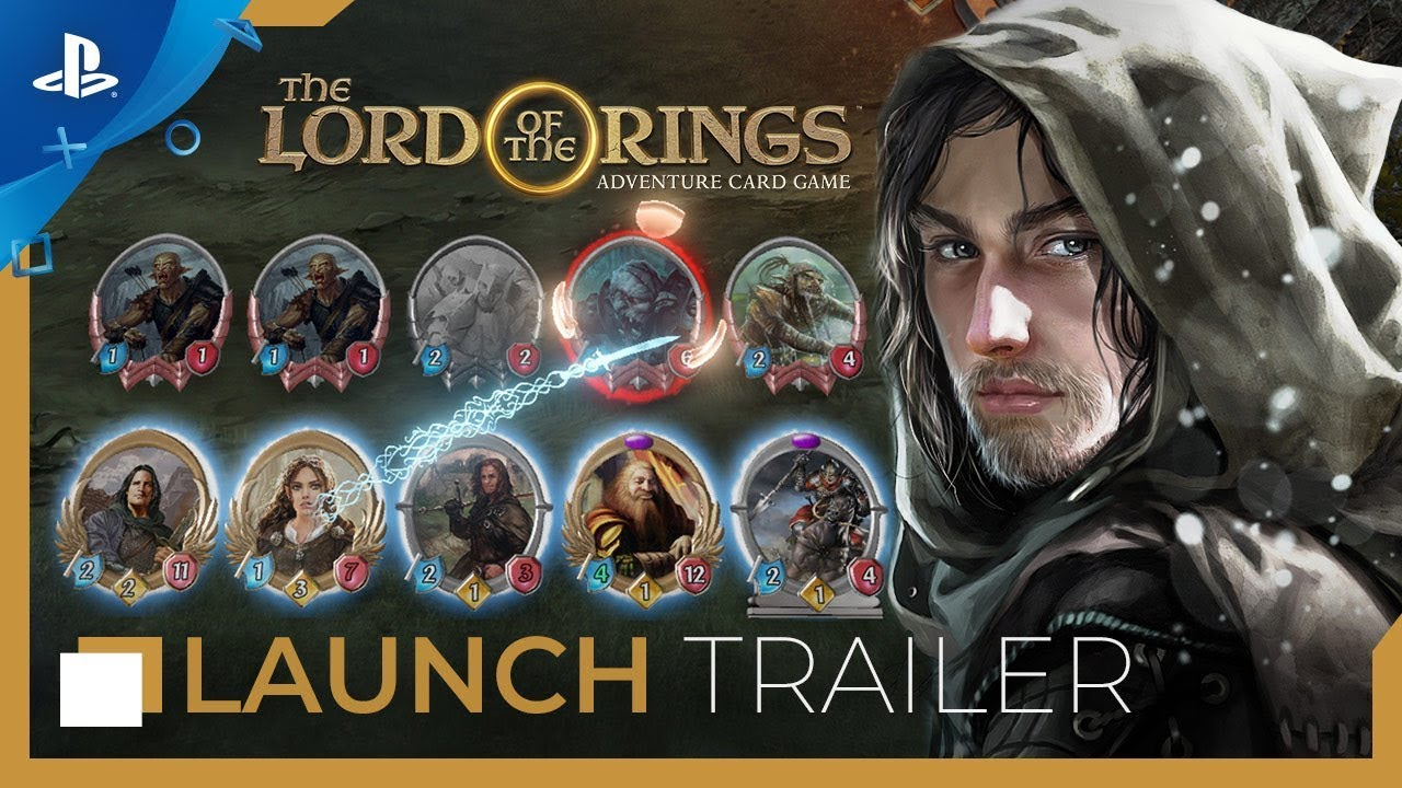 The Lord of the Rings: Adventure Card Game - Launch Trailer | PS4
