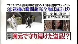 めちゃイケ 濱口優さんご結婚おめでとう!フジTV警察'01密着24時!! 逮捕...