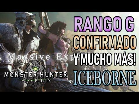 RANGO G CONFIRMADO!!! y MUCHO MÁS - Monster Hunter World ICEBORNE (Español) thumbnail