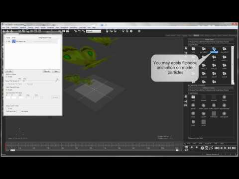 Particle Effects Tutorial - Using Model Particles in Fork Particle Studio