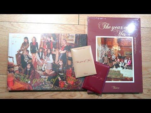 """트와이스 (TWICE) 3rd Special Album """"The year of Yes"""" Unboxing"""