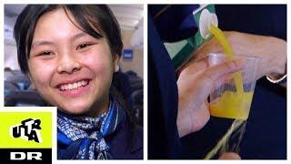 Pai's dag som stewardesse: Spilder næsten juice på passager! | SINDSYGT VILDT | Ultra