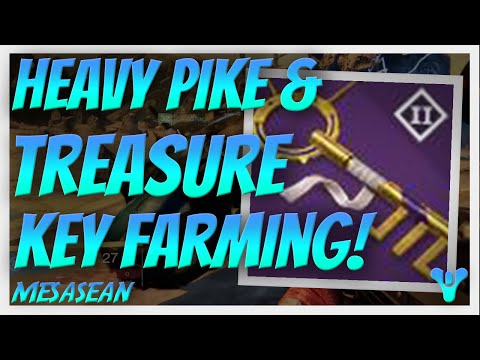 Heavy Pike, Treasure Key Farming Glitch. Destiny House of Wolves Pre Launch Activities.