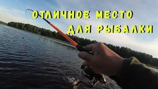 Рыбалка на спиннинг перед ураганом