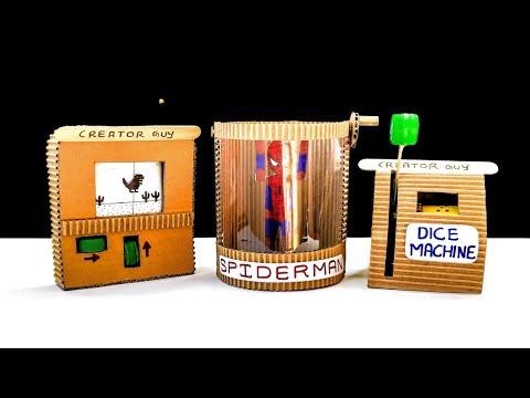 Wow! 3 Best Cardboard DIY Projects