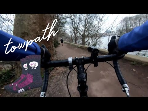 London Cycle Commute The Thames Path   Ride With Me