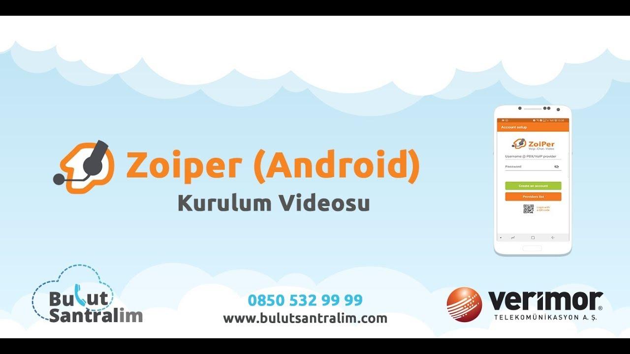 Zoiper (Android ) Kurulumu