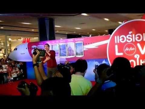 เพลงลูกอม nadech@ air asia love hatyai