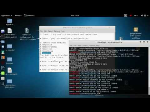 How to install Wireless Driver 80211ng in kali linux [2017]
